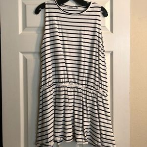 Zara drop waist tank dress - M